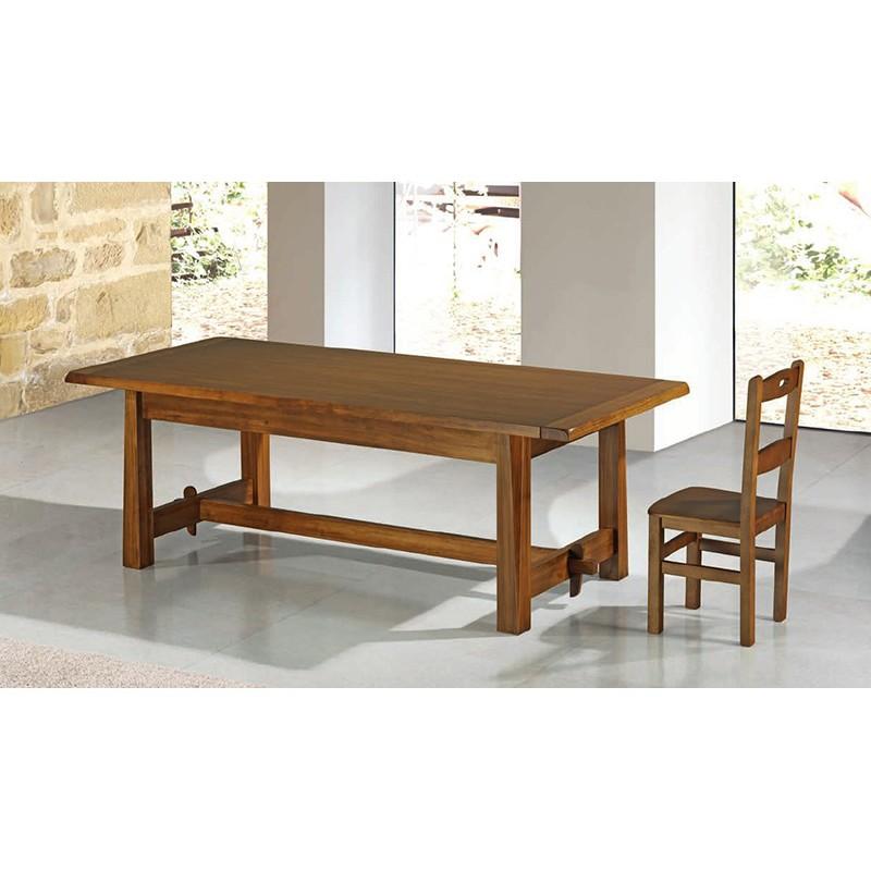 Mesa comedor pino macizo Ref. 815 - Muebles Alarcón