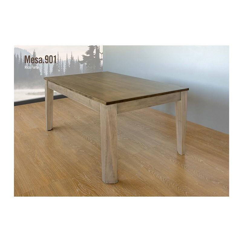 Mesa comedor pino macizo Ref. 901 - Muebles Alarcón
